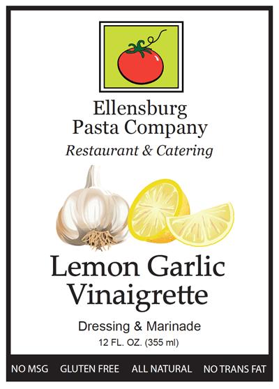 Lemon Garlic Vinaigrette | Ellensburg Pasta Company